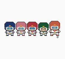 Mekkachibi Voltron Crew Kids Clothes