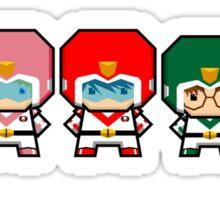 Mekkachibi Voltron Crew Sticker