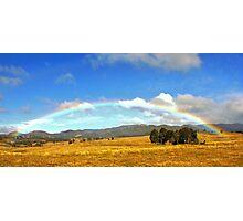 Somewhere over the rainbow Photographic Print
