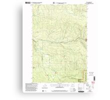 USGS Topo Map Washington State WA Dole 240875 2000 24000 Canvas Print