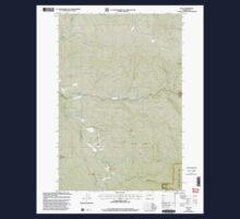 USGS Topo Map Washington State WA Dole 240875 2000 24000 One Piece - Short Sleeve