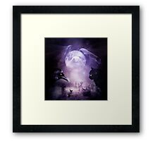 In The Glow of Darkness Framed Print