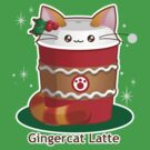 Purrista Pawfee: Cute Christmas Coffee Cat by kimchikawaii