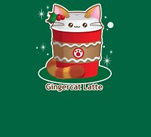 Purrista Pawfee: Cute Christmas Coffee Cat Unisex T-Shirt