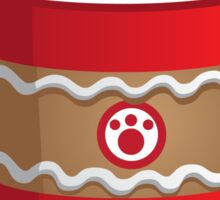 Purrista Pawfee: Cute Christmas Coffee Cat Sticker