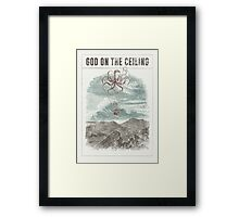 God on the Ceiling Framed Print