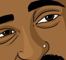 Tupac Sticker