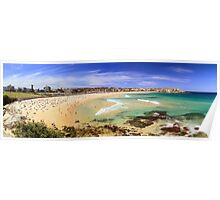 Bondi - Low Tide Panoramic Poster