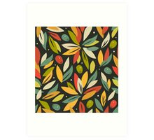 Olive branches Art Print