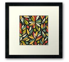 Olive branches Framed Print
