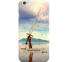 The Ace of Swords iPhone Case iPhone Case/Skin