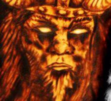 Loki Norse God  Sticker