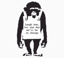 Banksy - Monkey by Sazz