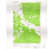 USGS Topo Map Washington State WA Addy 239737 1965 24000 Poster