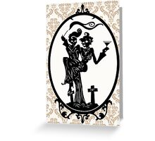 Till Death Do Us Party Greeting Card