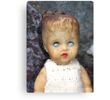 Decaying Doll Canvas Print