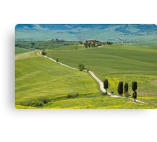 The Path from Pienza Canvas Print