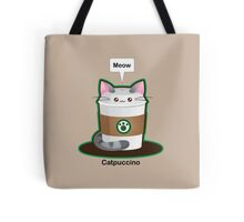 Cute Cat Coffee Tote Bag