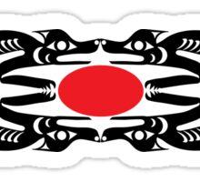 Coast Salish Wolf Sticker