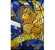 St. Pius X Photographic Print