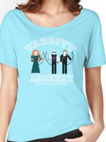 Varsity Archery (Fictional Division) Women's Relaxed Fit T-Shirt