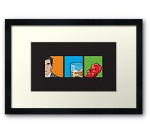 scotch & gummy bears Framed Print