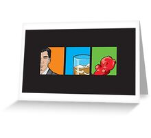 scotch & gummy bears Greeting Card