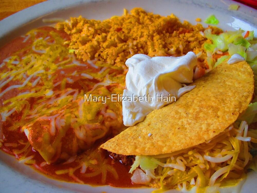 El SARAPE Combinaciones # 4 - Enchilada & Taco by M-EK