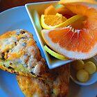 Alderbrook's Scones & Fruit by M-EK