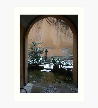 THIS PLACE IS SO MAGICAL...ITALY - MONDO- VETRINA   RB EXPLORE 2 FEBBRAIO 2014 - Art Print