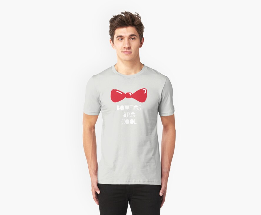 Bowties Are Cool-White Lettering by nataratatata