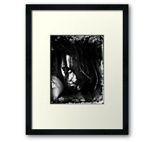 seriously?! Framed Print