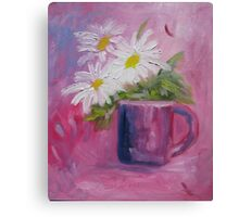 Cup of Sunshine Canvas Print