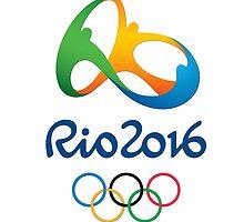 LOGO Rio 2016 Olympics & Paralympics - Summer Games in Brazil by afifafaizati