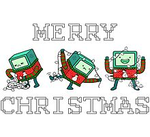 Merry Christmas - BMO by chanlla