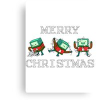 Merry Christmas - BMO Canvas Print