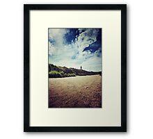 Dune Walk Framed Print