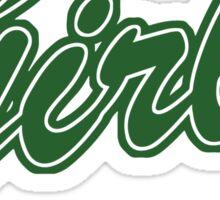 Girls (Green) Sticker