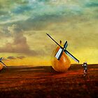Jousting Windmills by pattipics