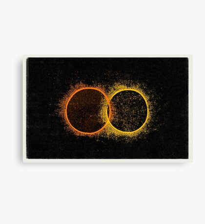 Twin Suns Canvas Print