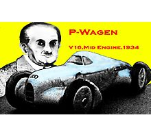 Dr P and the Streamliner Photographic Print