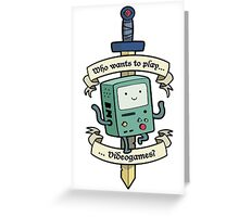 Bmo Greeting Card
