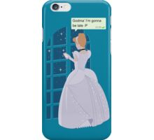 Cinderella - At home before midnight iPhone Case/Skin
