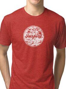 INSPIRE. Tri-blend T-Shirt
