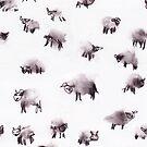 Moody Sheep by Hannah Baker - Jamface