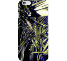 Shards of Blue and Gold iPhone case design iPhone Case/Skin