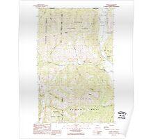 USGS Topo Map Washington State WA Toroda 244322 1988 24000 Poster