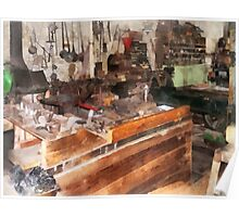 Metal Machine Shop Poster