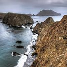Inspiration Point - Anacapa Island by Eddie Yerkish