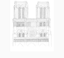 Notre Dame Cathedral - urban sketch Unisex T-Shirt